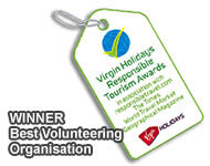 Best Volunteering Organisation at the Responsible Travel Awards